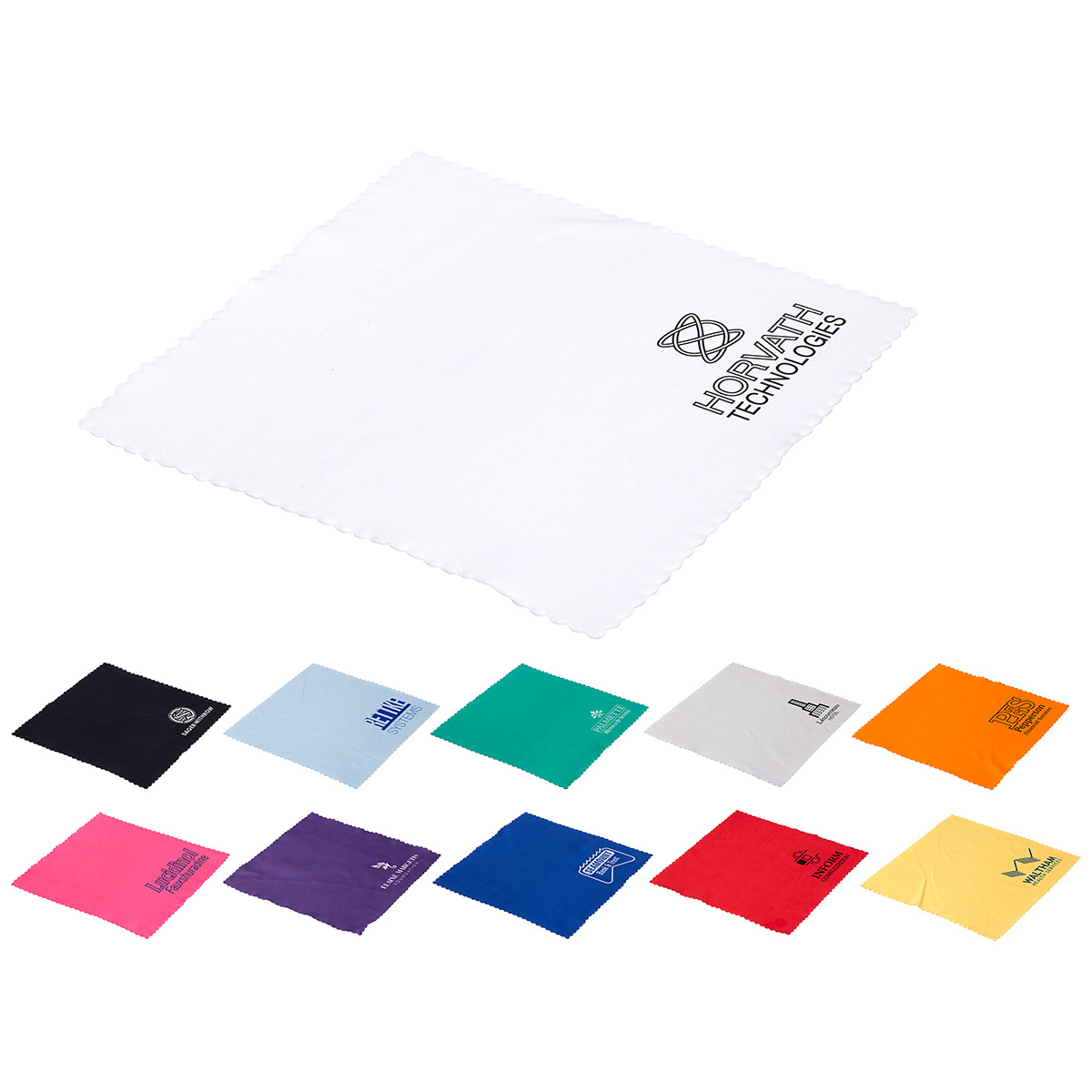 Premium Microfiber Cloth, WPC-PM17, 1 Colour Imprint