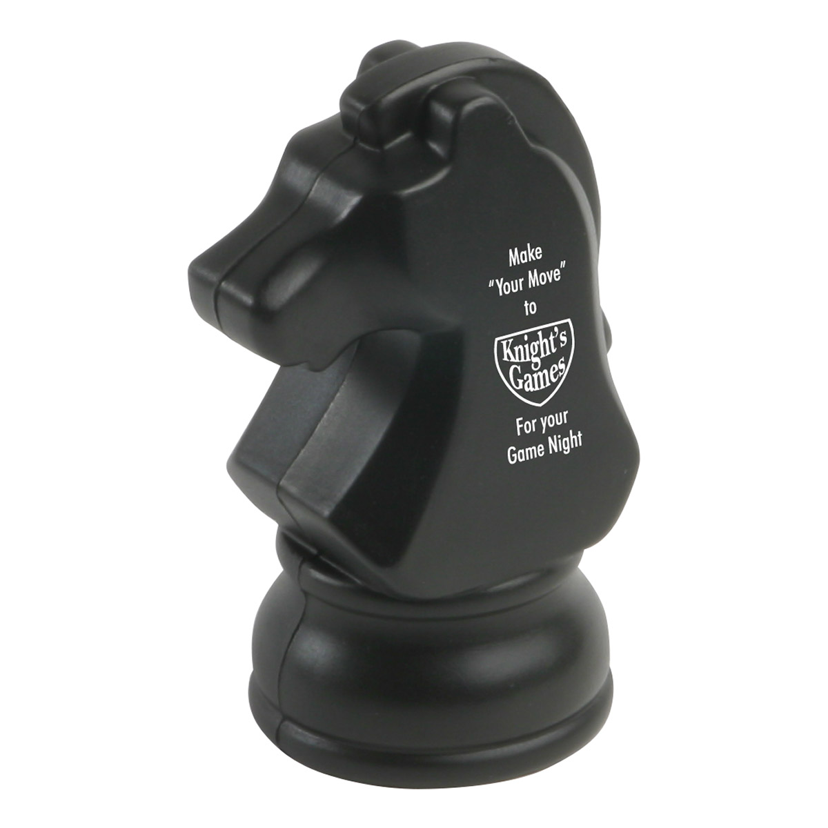 Knight Chess Piece Stress Reliever, LGS-CP07 - 1 Colour Imprint