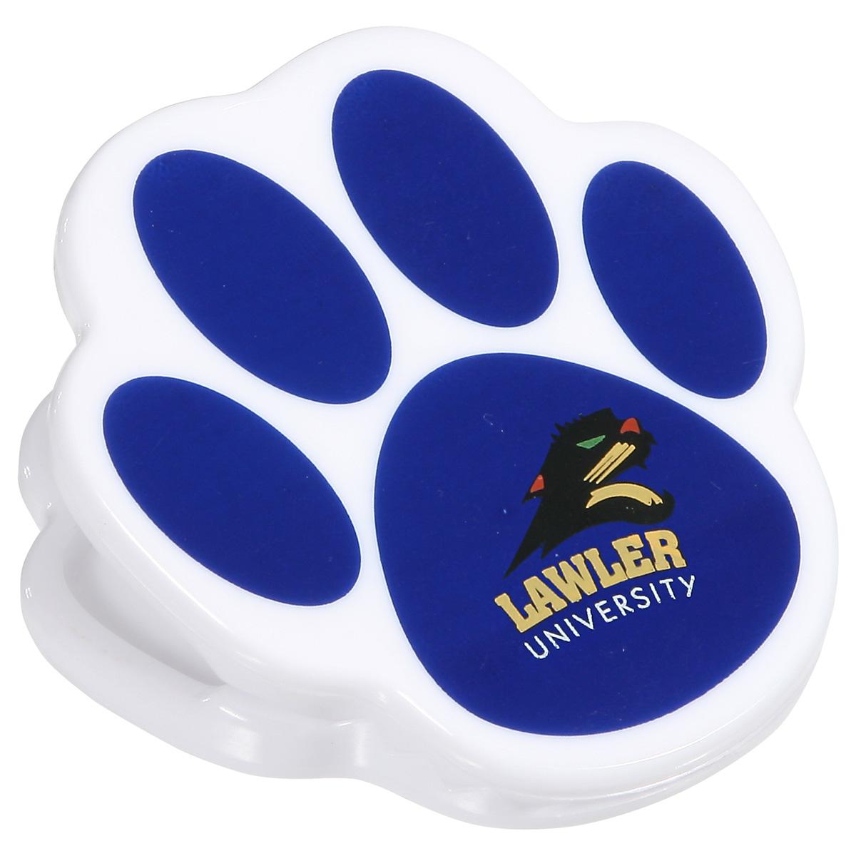 Pet Paw Power Clip, WMG-PT10, 1 Colour Imprint