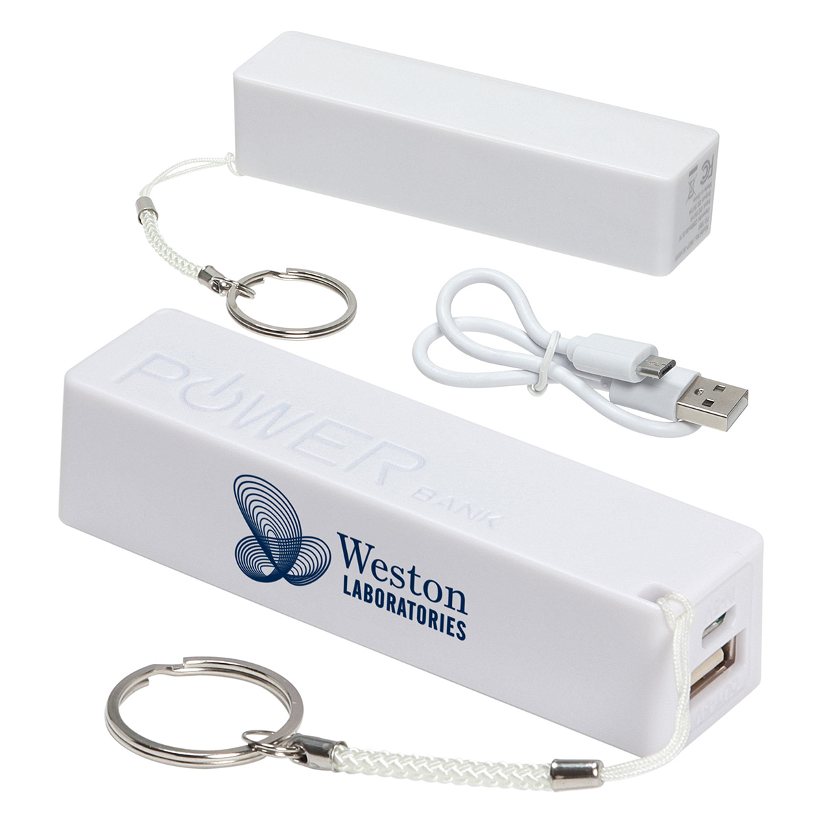 In-Style Power Bank, WCP-IN14 - 1 Colour Imprint