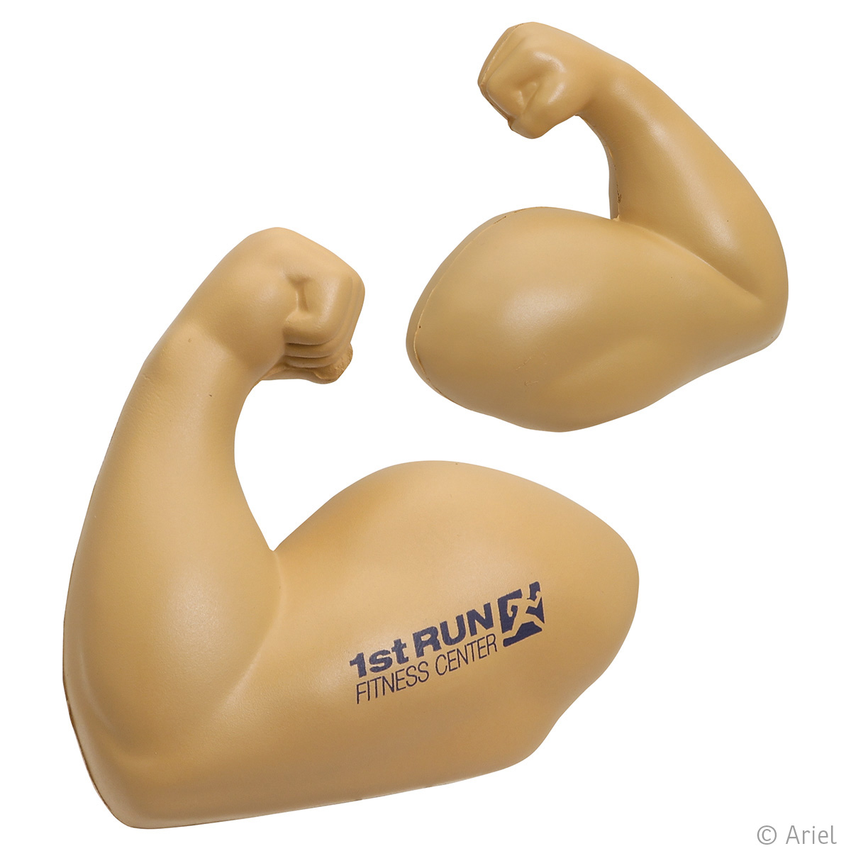 Muscle Arm Stress Reliever, LSP-MA20 - 1 Colour Imprint