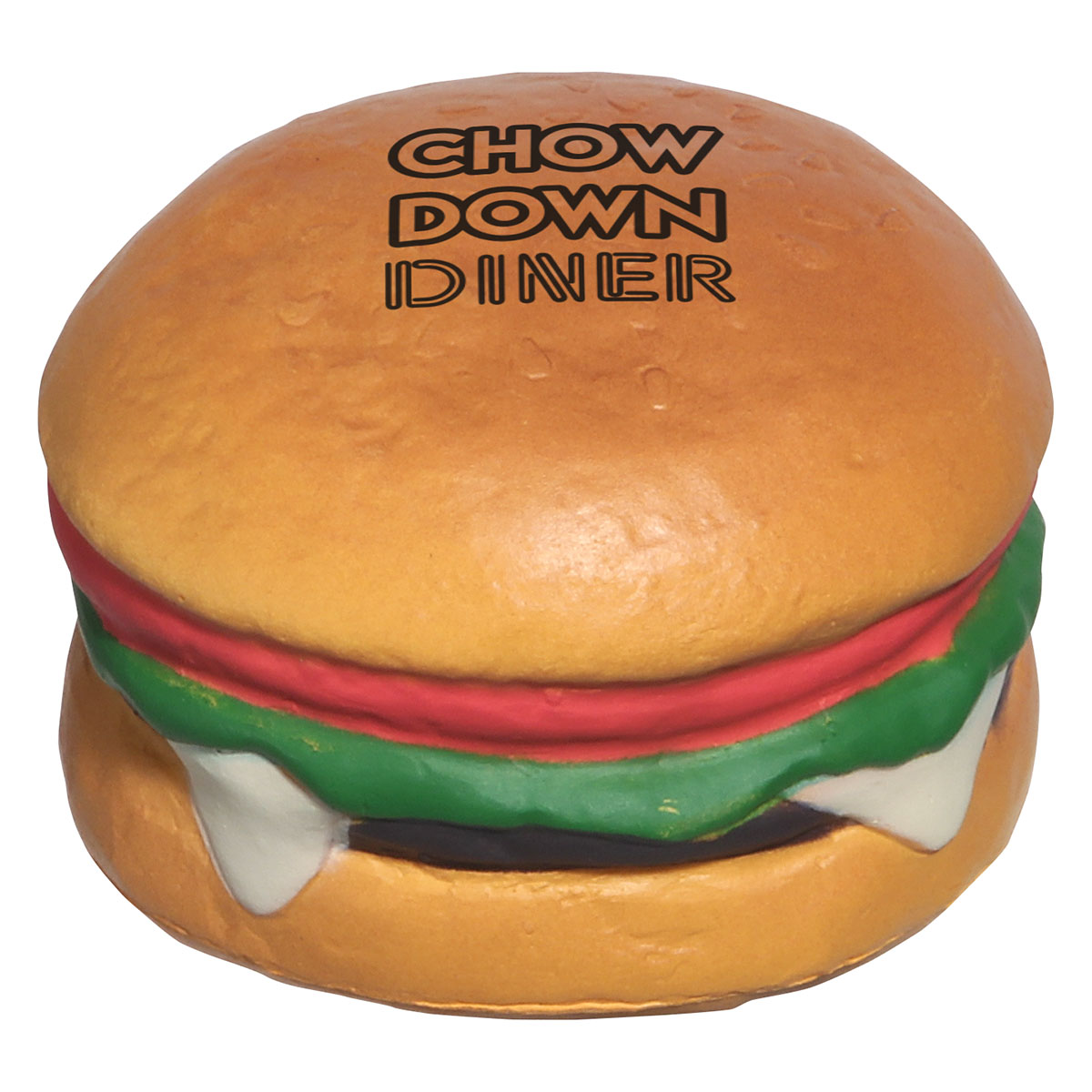Hamburger Stress Reliever, LFD-HB07 - 1 Colour Imprint