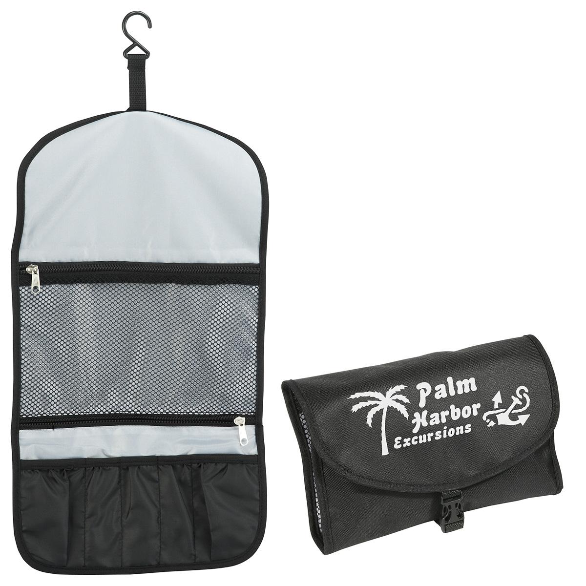 Tradewinds Travel Toiletry Bag, WBA-TB10, 1 Colour Imprint