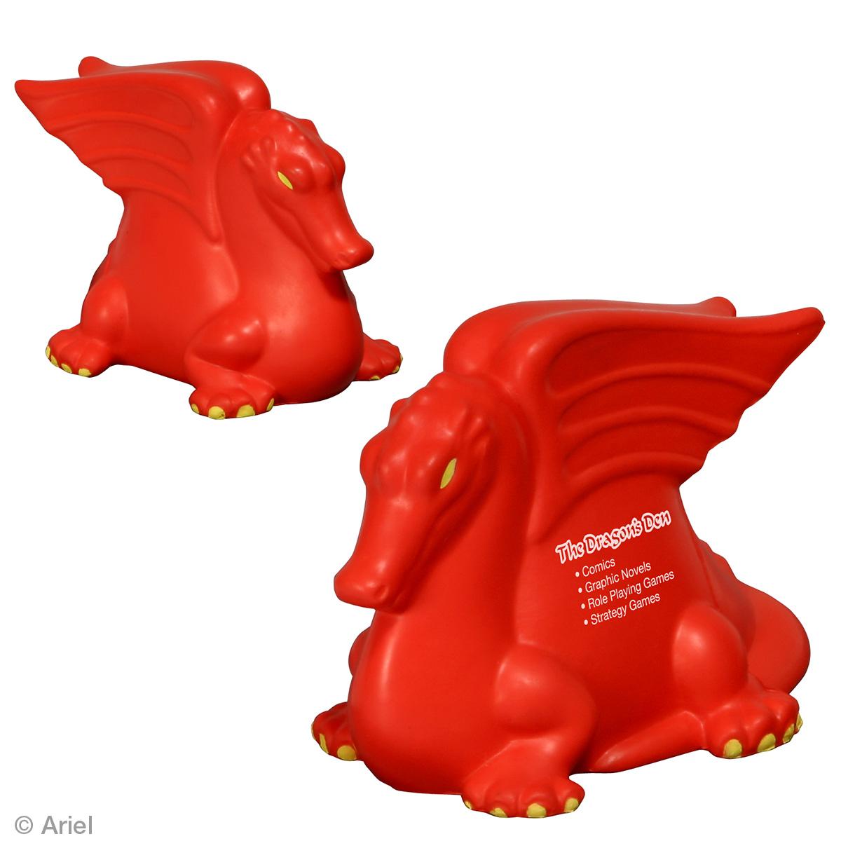 Dragon Stress Reliever, LFF-DR07, 1 Colour Imprint