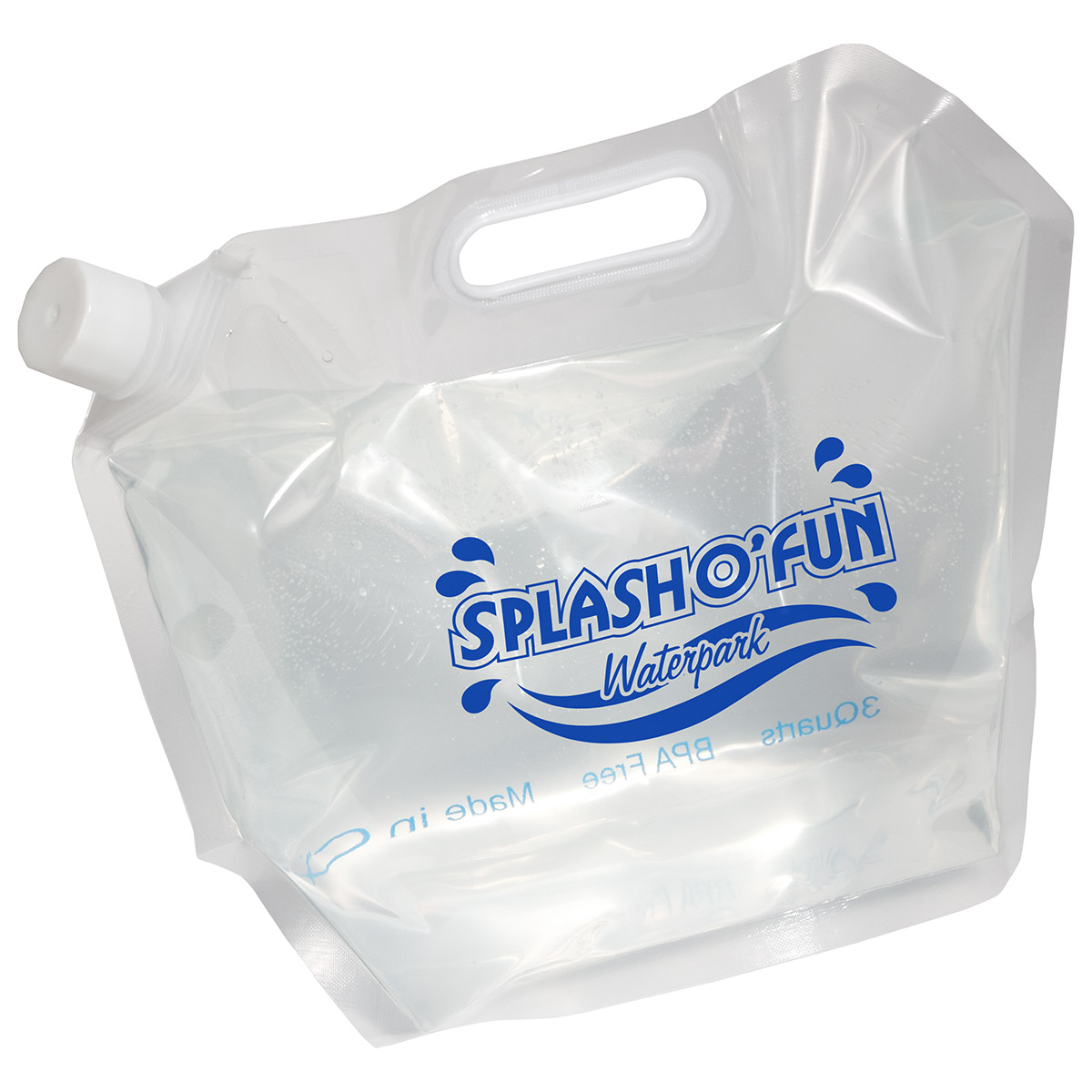 H2o Easy Tote Water Bag, WKA-WB15, 1 Colour Imprint
