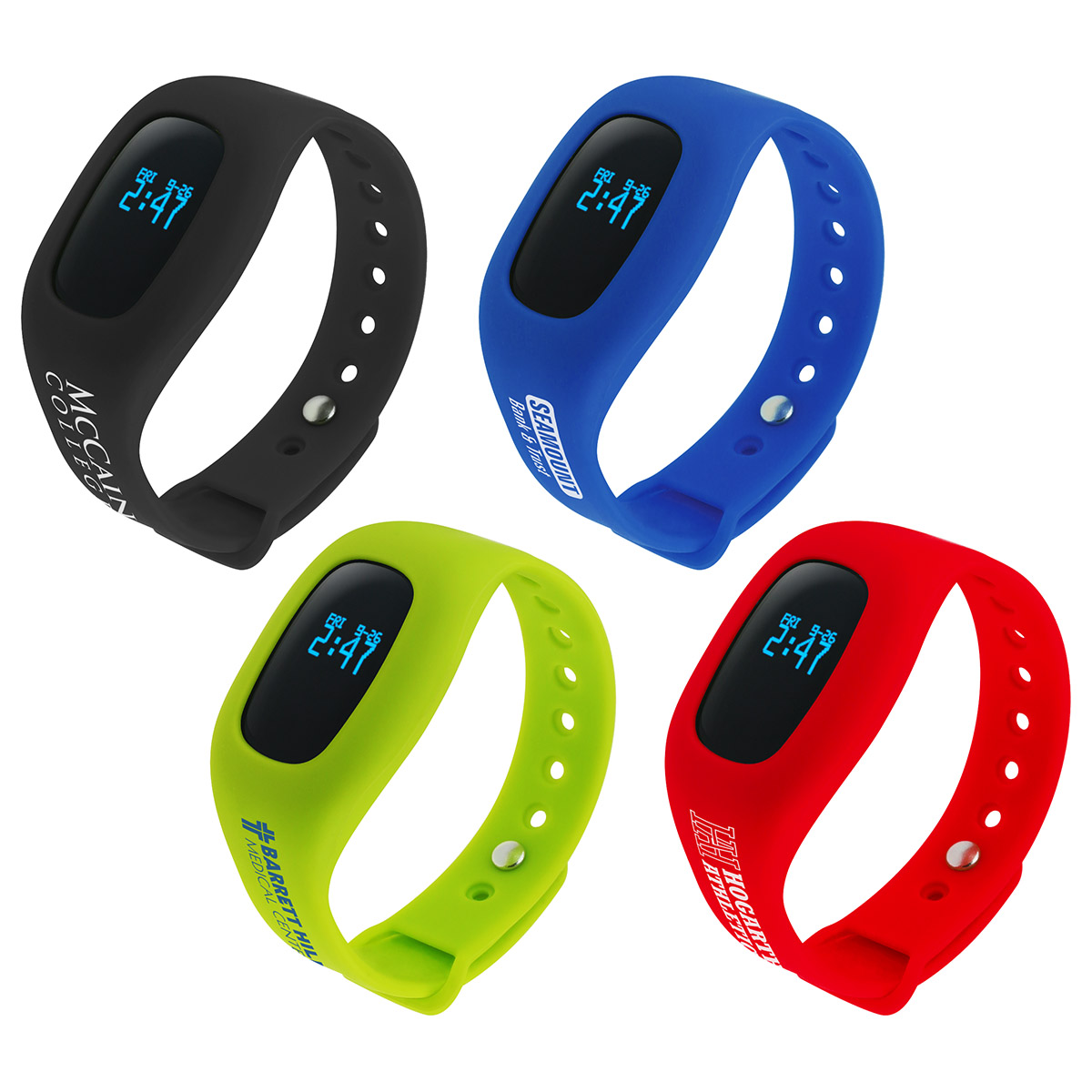Smart Wear Wireless Tracker Pedometer, WHF-SW16 - 1 Colour Imprint