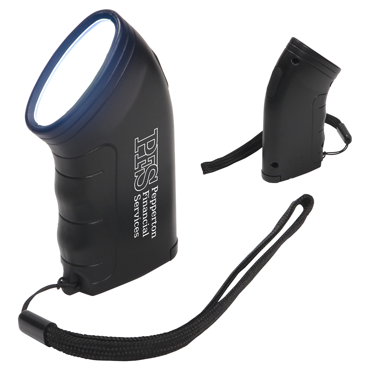 Easy-Grip Pocket Torch, WLT-EG18, 1 Colour Imprint