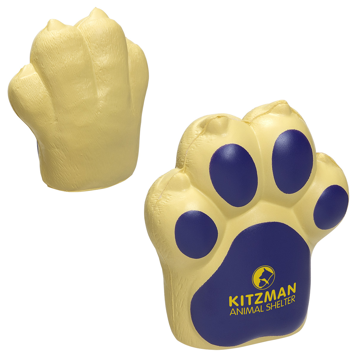 Dog Paw Stress Reliever, LPE-DP18 - 1 Colour Imprint