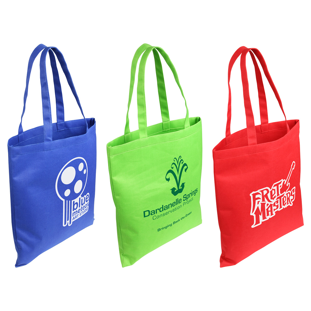 Gulf Breeze Recycled P.E.T. Tote Bag, WBA-BR10, 1 Colour Imprint