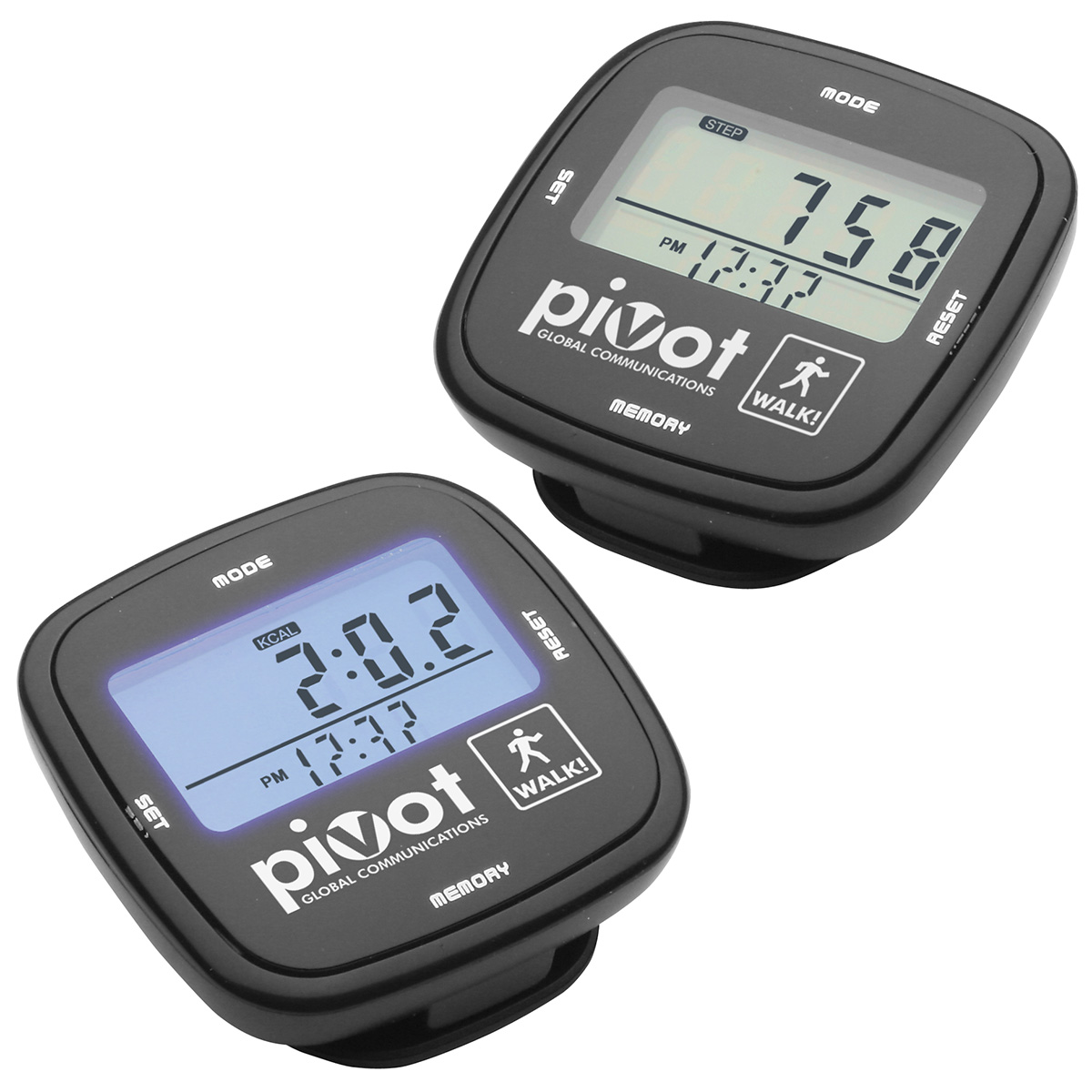 Touch Screen Multifunction Pedometer, WHF-TS10 - 1 Colour Imprint