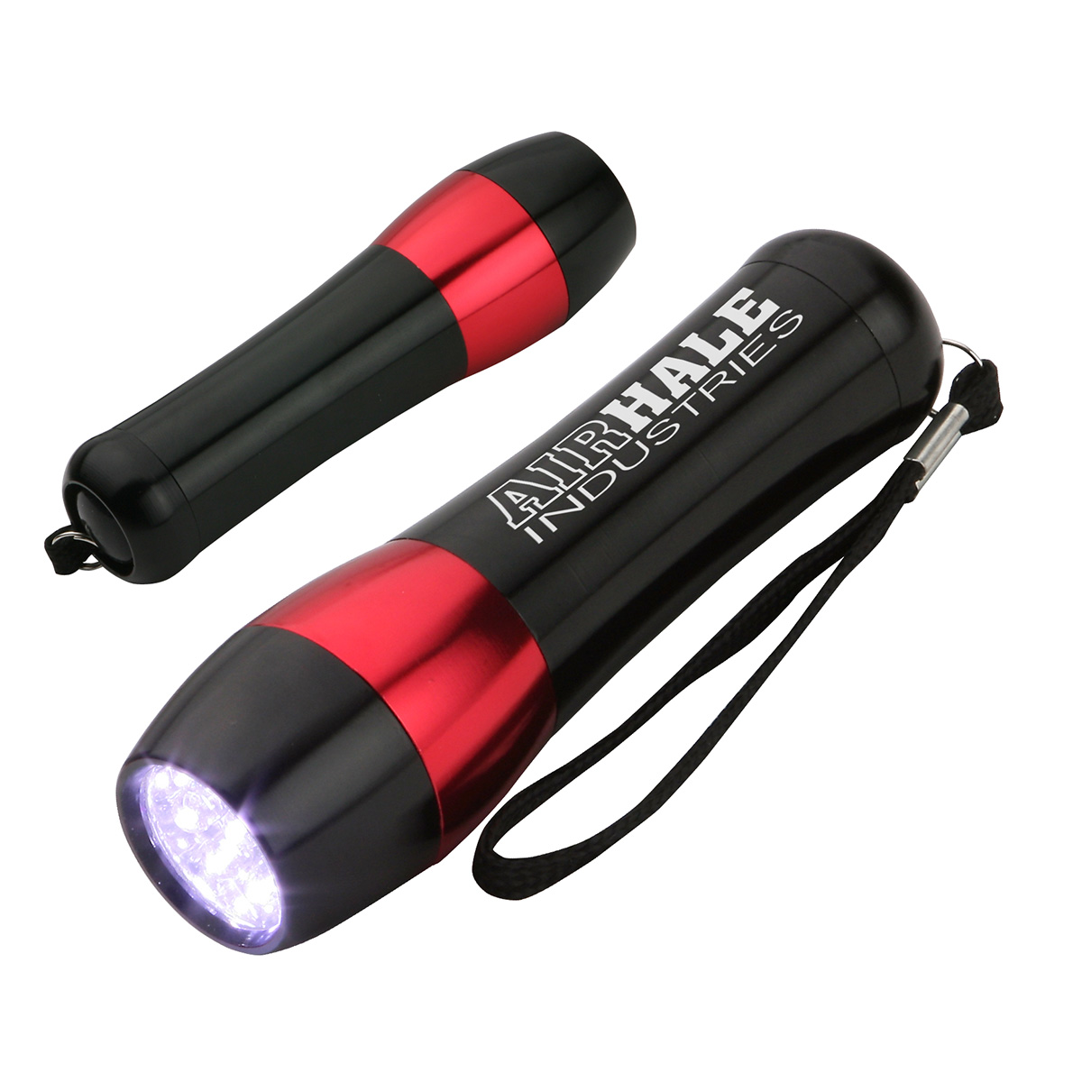 Aluminum LED Flashlight, WLT-NF12 - 1 Colour Imprint