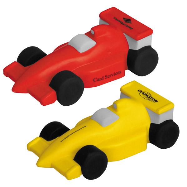 Race Car Stress Reliever, LTV-RC38, 1 Colour Imprint
