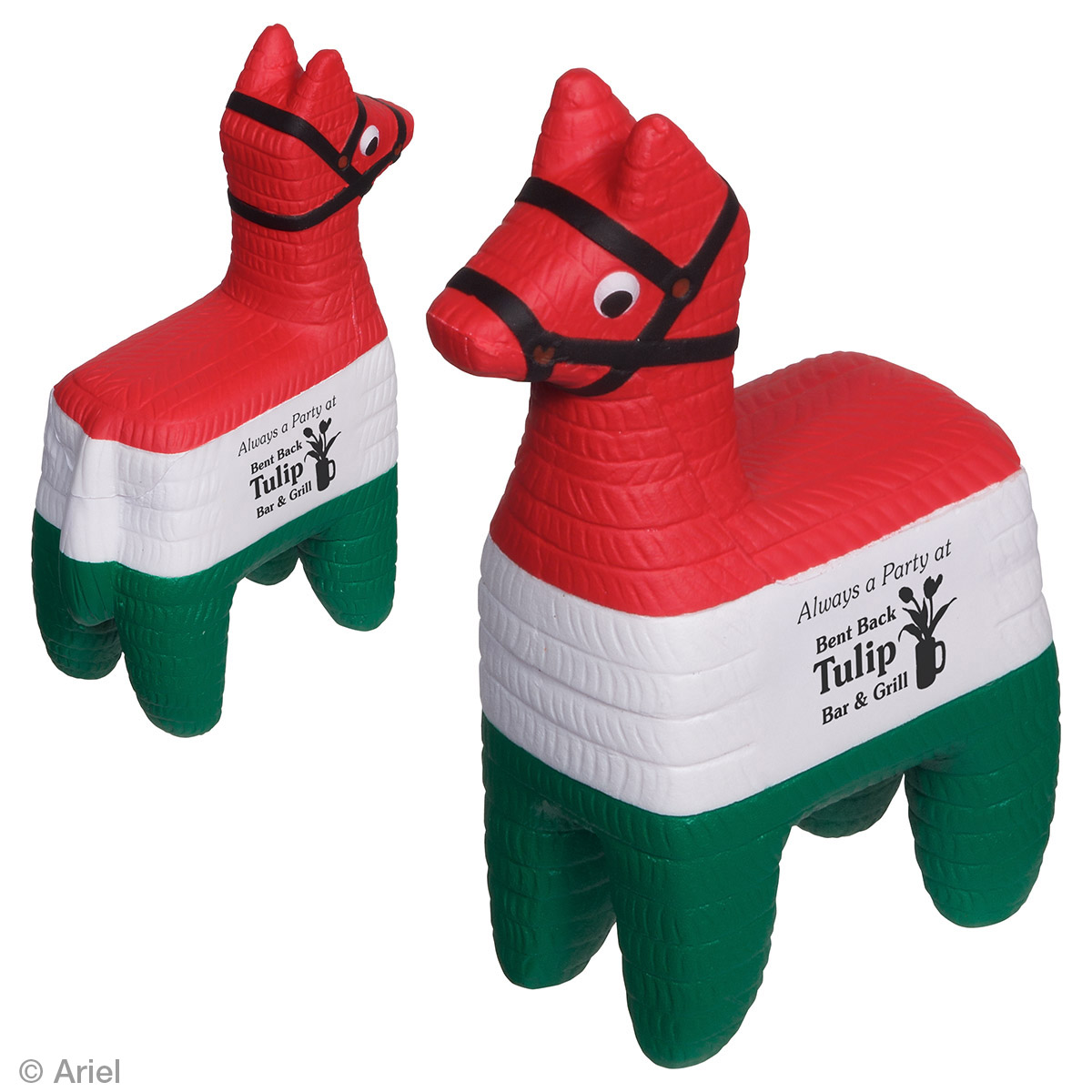 Pinata Stress Reliever, LGS-PN15, 1 Colour Imprint