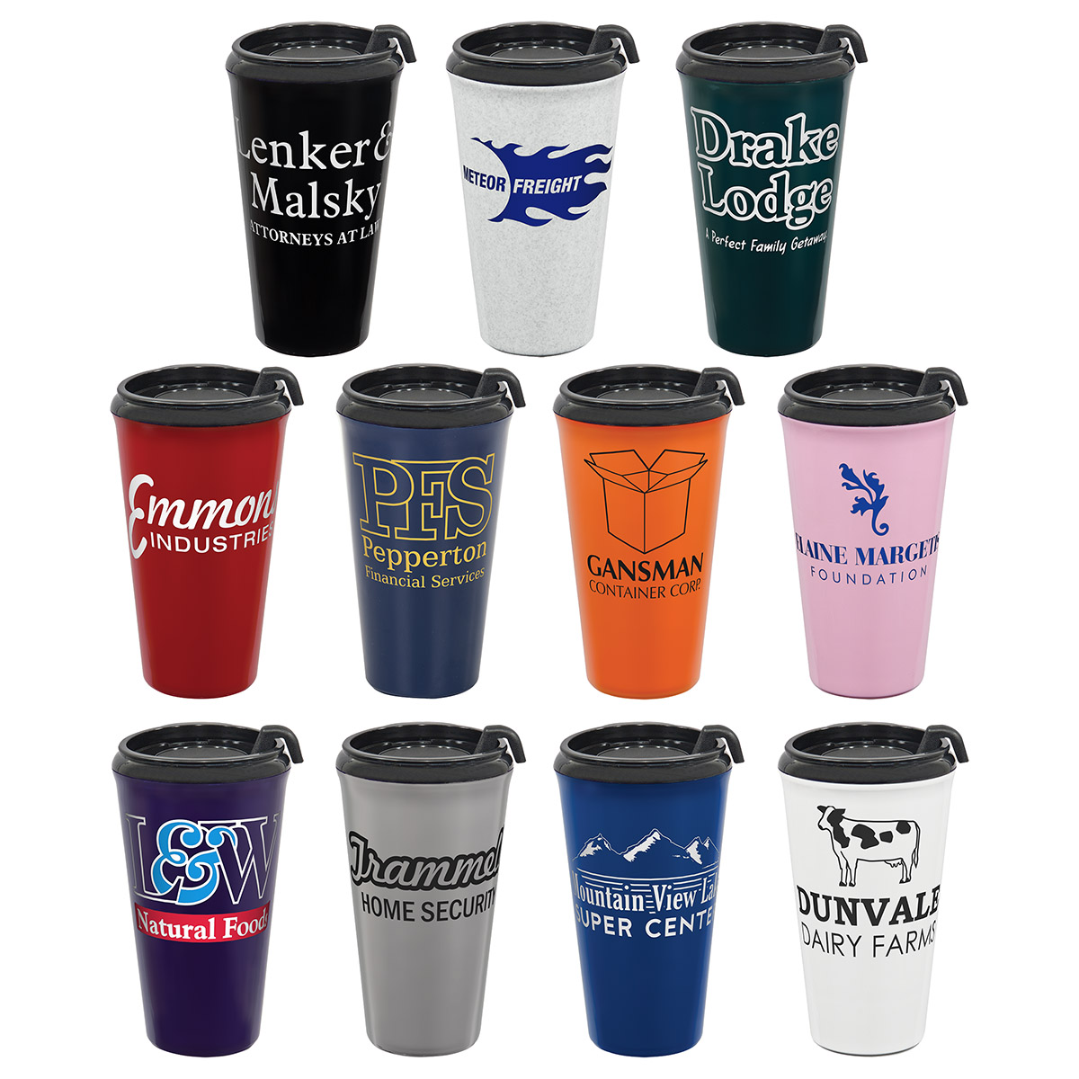 MONTEREY 16 oz Two-Tone Tumbler, DWI-MT17, 1 Colour Imprint