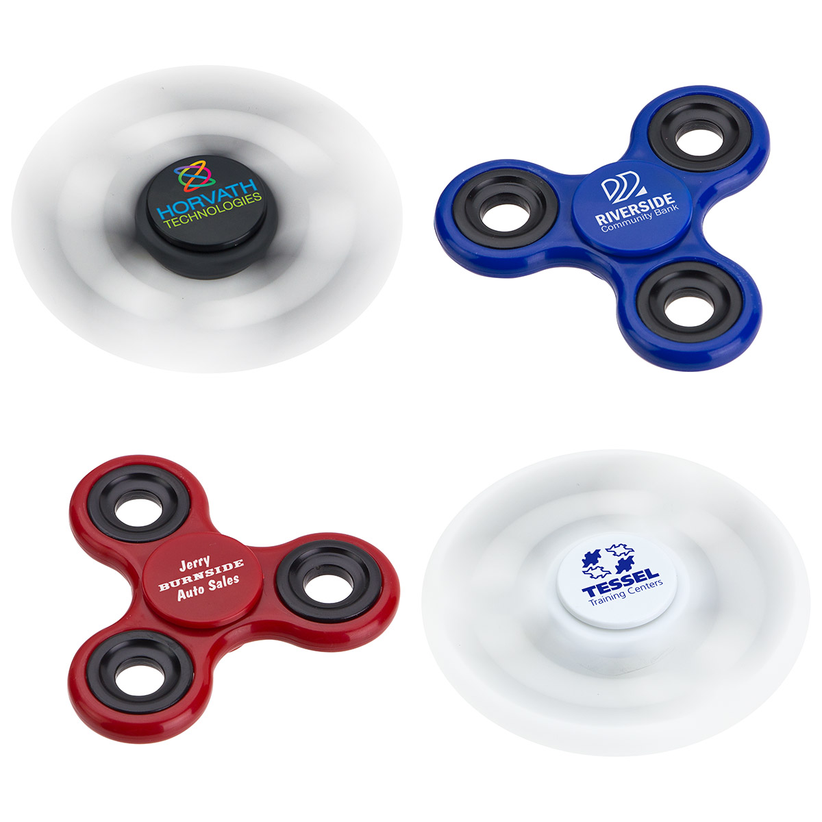 Classic Whirl Spinner, WPC-CW17, 1 Colour Imprint