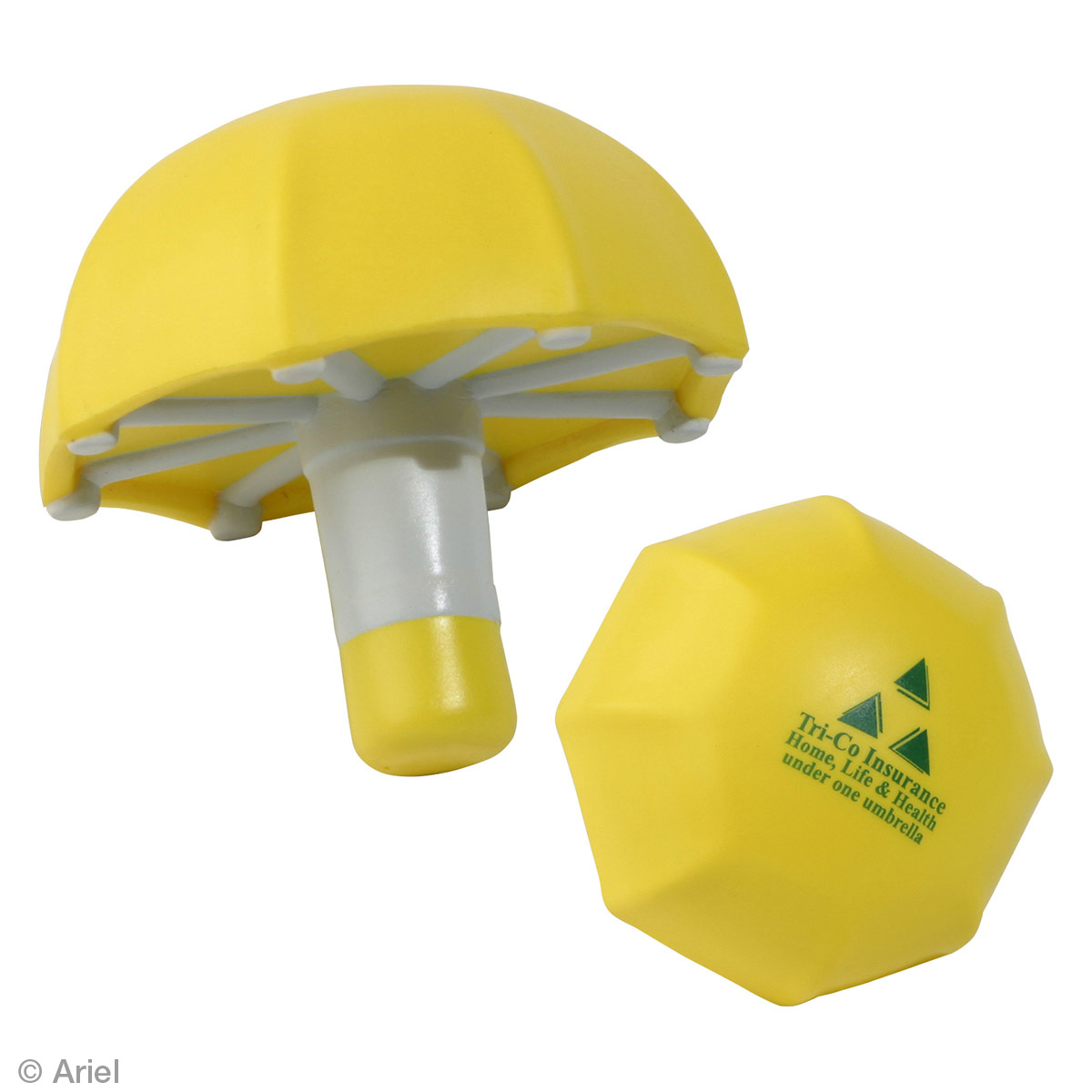 Umbrella Stress Reliever, LGS-UM01 - 1 Colour Imprint