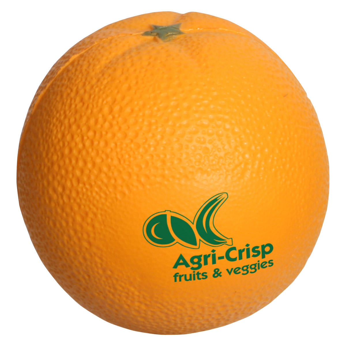 Orange Stress Reliever, LFR-OR05 - 1 Colour Imprint