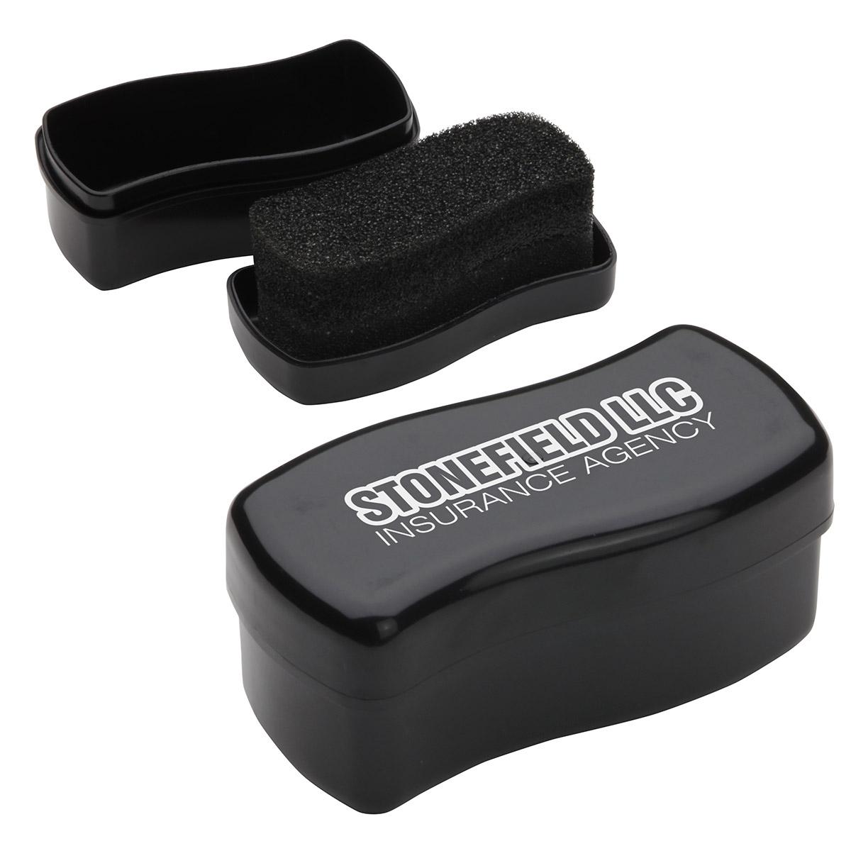 Touch-Up Shoe Shine Black Polish, WPC-TB12 - 1 Colour Imprint