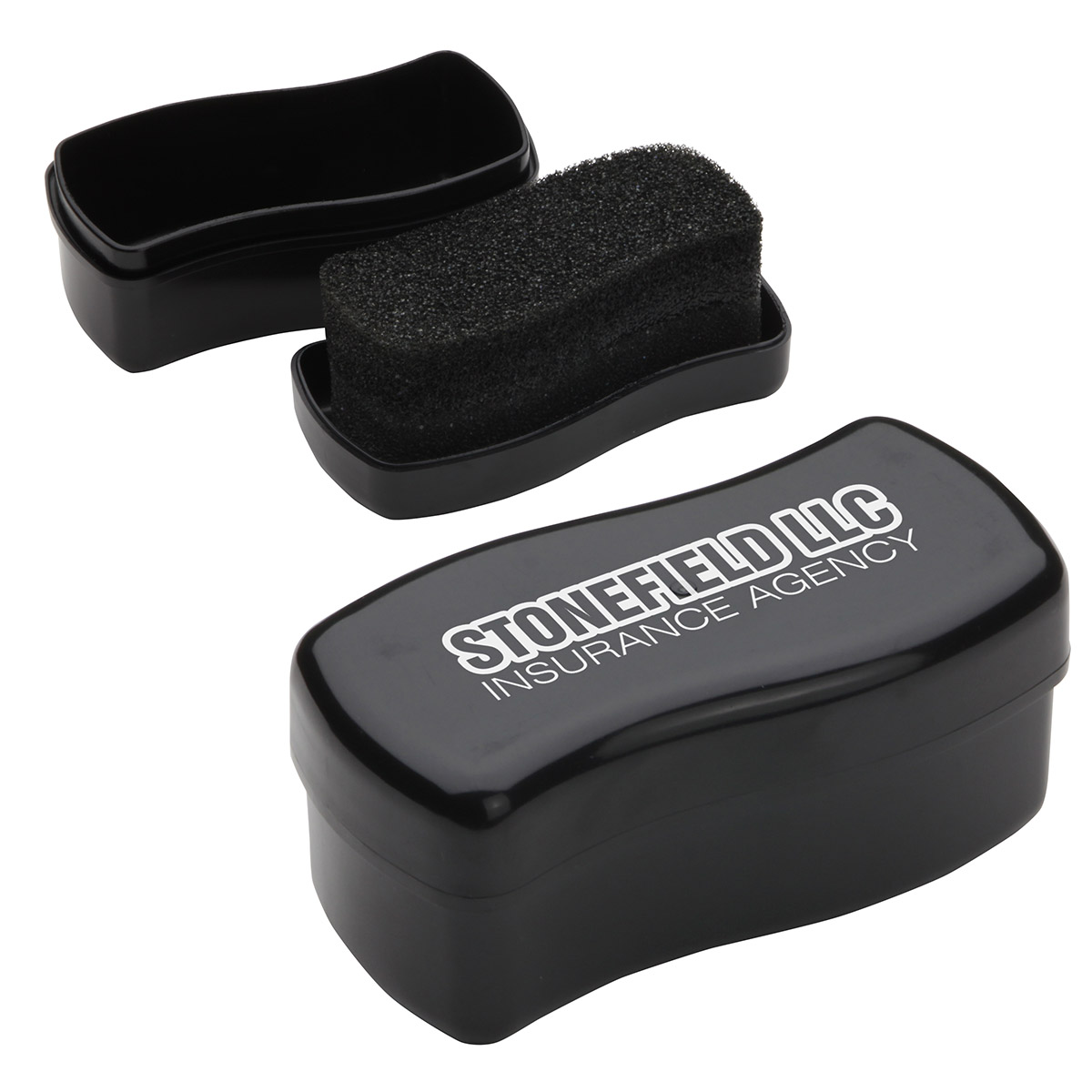 Touch-Up Shoe Shine Black Polish, WPC-TB12, 1 Colour Imprint