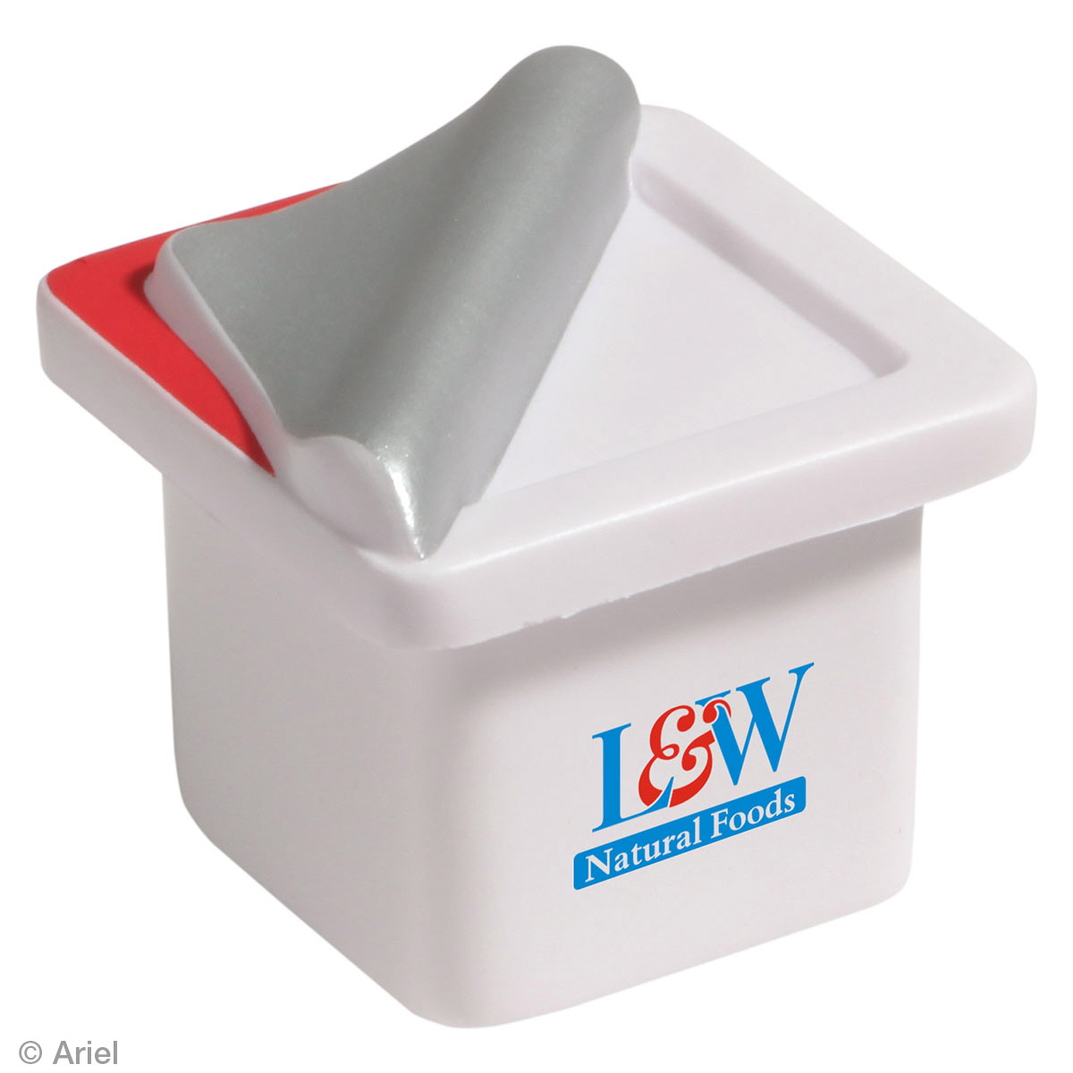 Yogurt Stress Reliever, LFD-YG13, 1 Colour Imprint