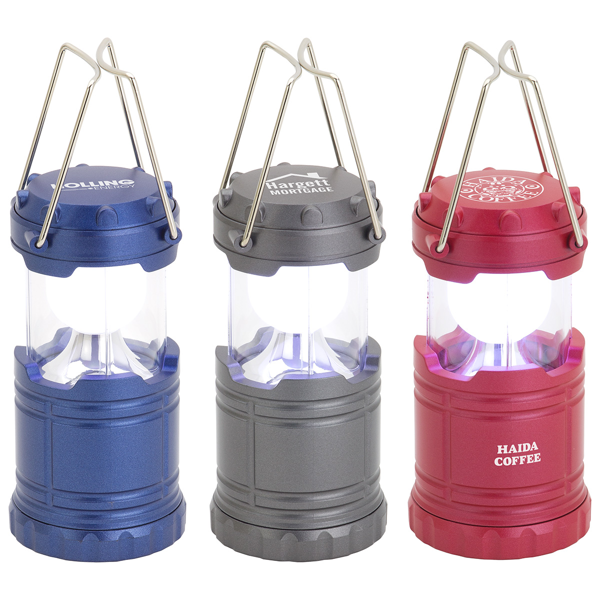 Mini Retro Lantern, WLT-ML18, 1 Colour Imprint