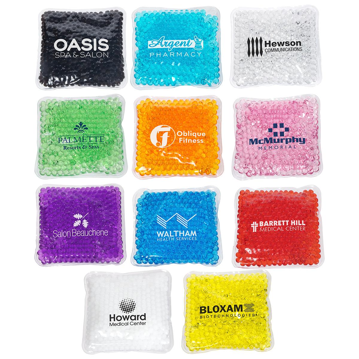 Square Aqua Pearls(TM) Hot/Cold Pack, WHF-SQ15, 1 Colour Imprint