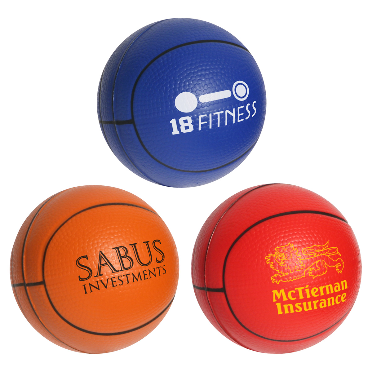 Basketball Slo-Release Serenity Squishy, LSP-KS19, 1 Colour Imprint