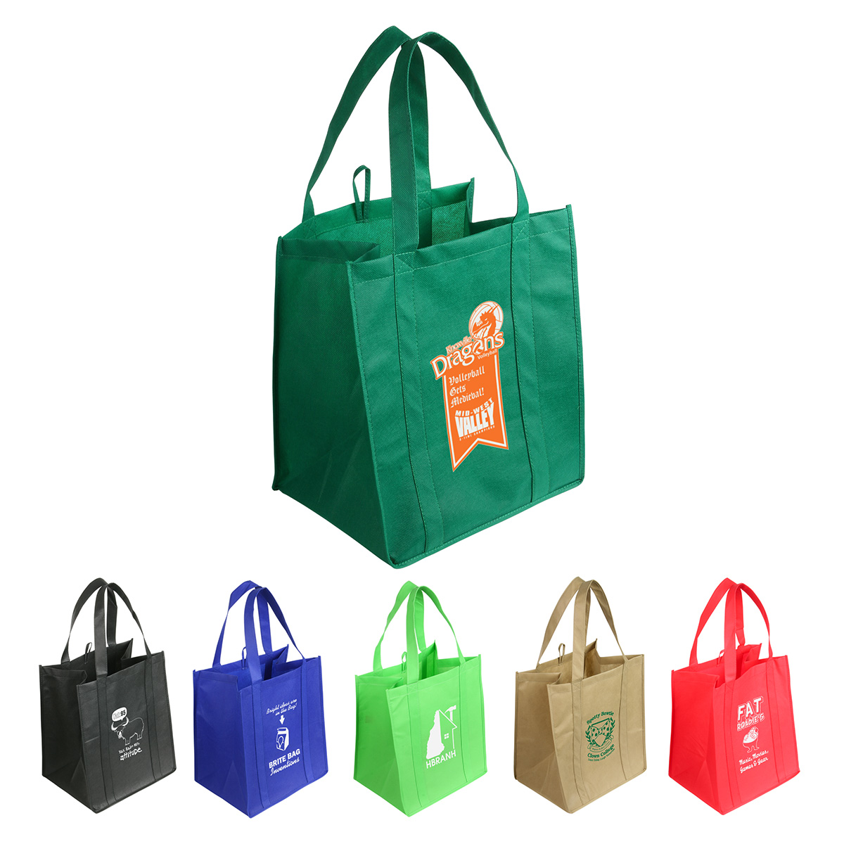 Sunbeam Jumbo Tote Shopping Bag, WBA-SJ09 - 1 Colour Imprint