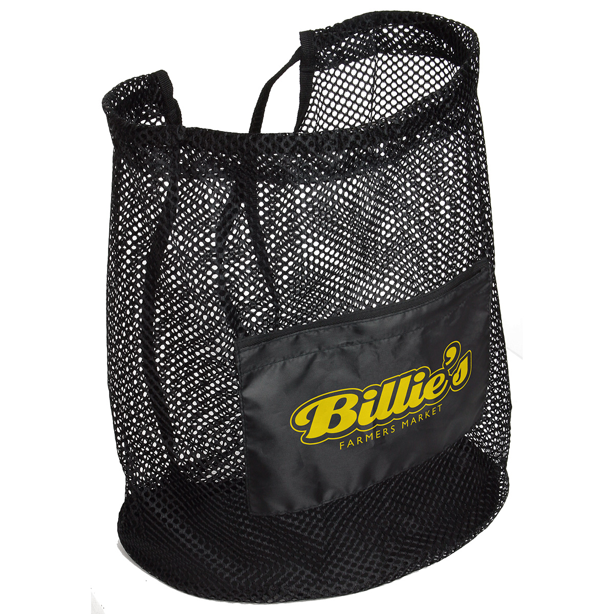 Flex Mesh Drawstring Bag, WBA-FM11, 1 Colour Imprint