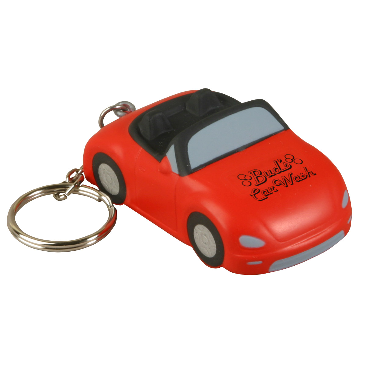 Convertible Car Stress Reliever Key Chain, LKC-CV33, 1 Colour Imprint