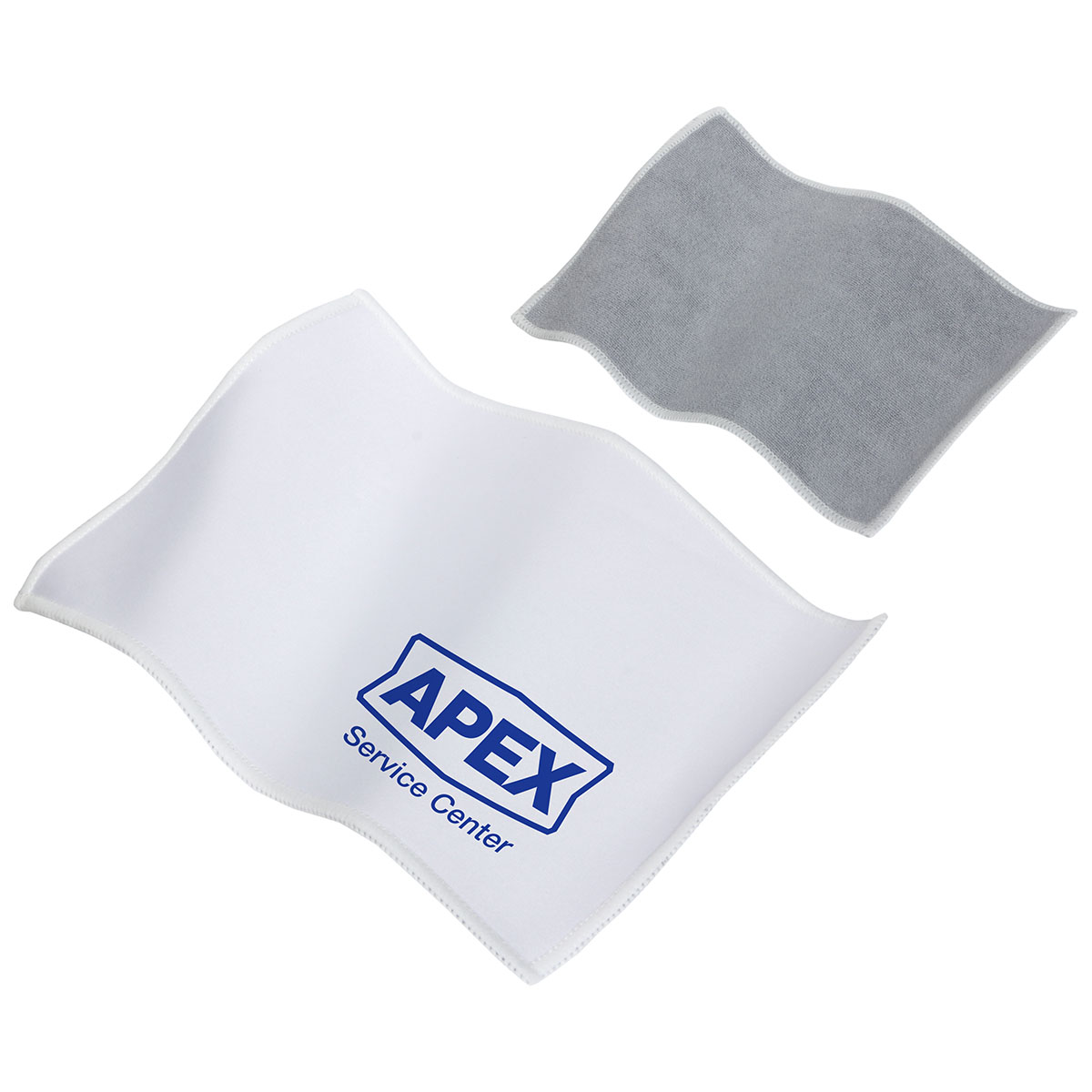 Quick Clean Dual Sided Microfiber Cloth, WPC-QC13 - 1 Colour Imprint