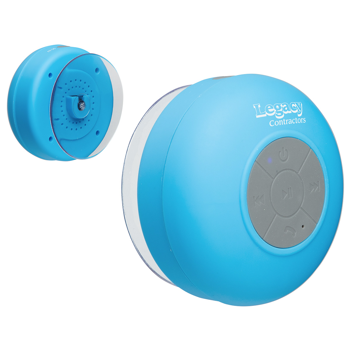 Water Resistant Wireless Speaker, WSP-WR15 - 1 Colour Imprint