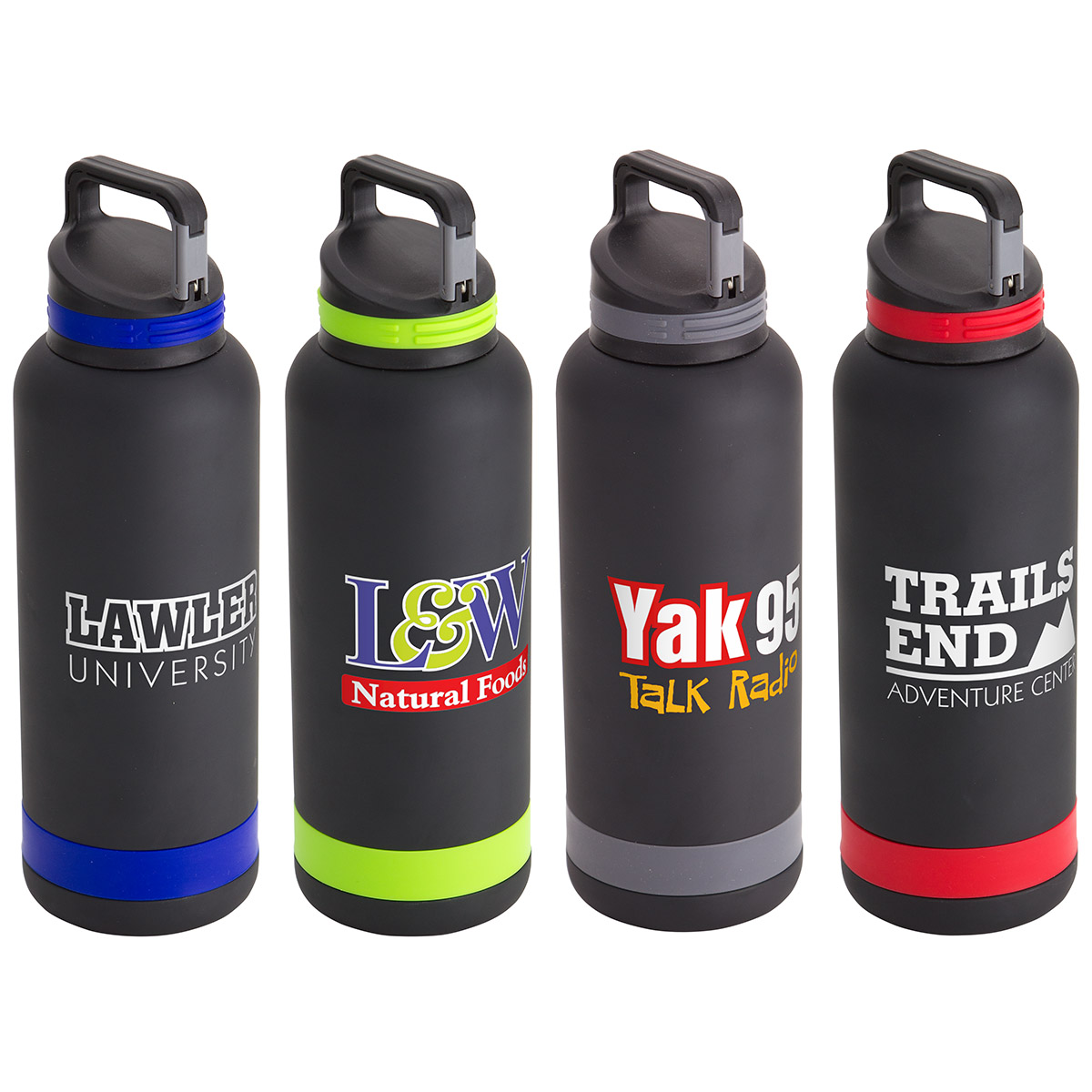 Trenton 25oz Vacuum Insulated Stainless Steel Bottle, DBT-TR16 - 1 Colour Imprint