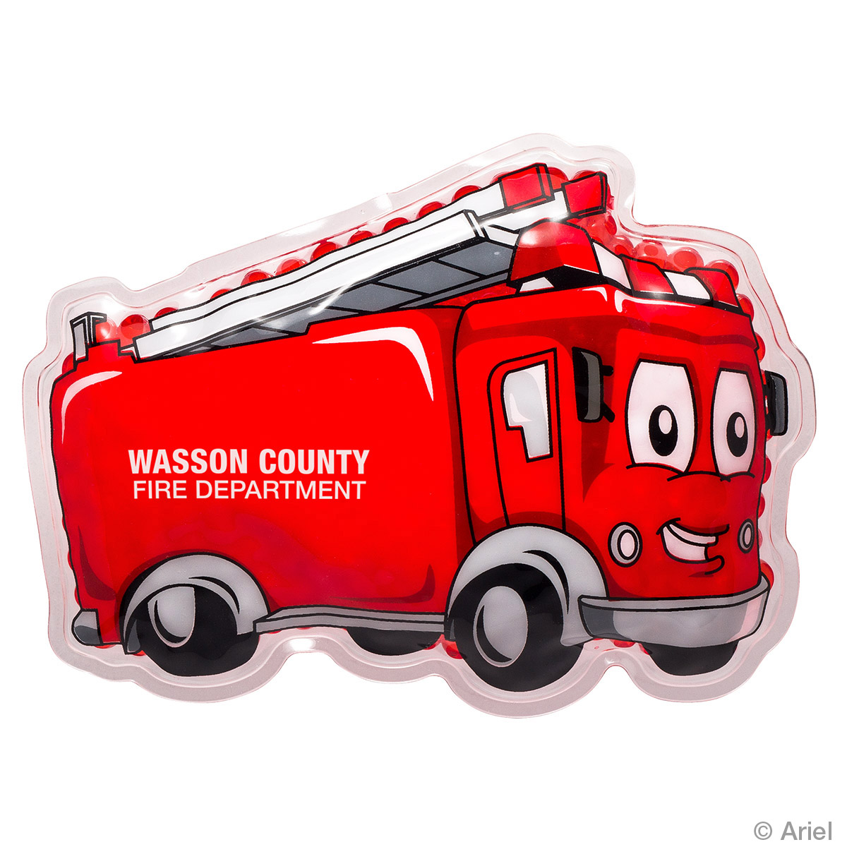 Fire Truck Hot/Cold Pack, WHF-FT17 - 1 Colour Imprint