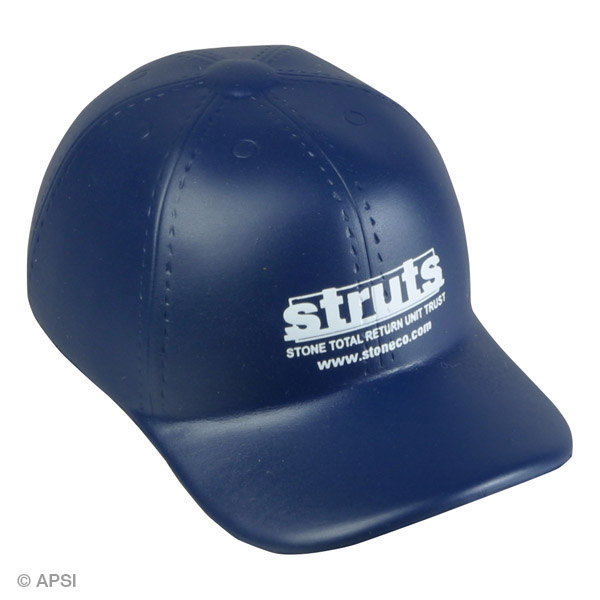 Baseball Hat Stress Reliever, LSP-BH13 - 1 Colour Imprint