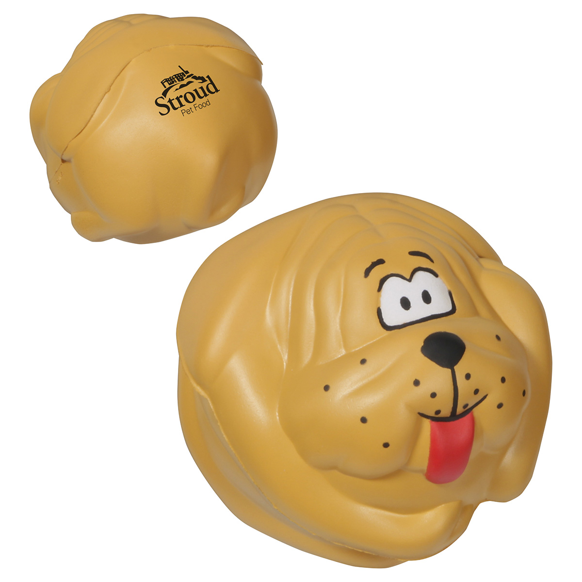 Dog Ball Stress Reliever, LPE-DB05, 1 Colour Imprint
