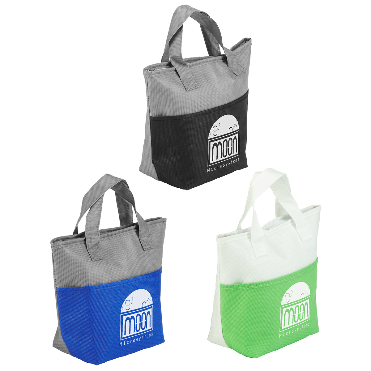 Santa Ana Insulated Snack Tote Bag, WBA-SA10 - 1 Colour Imprint