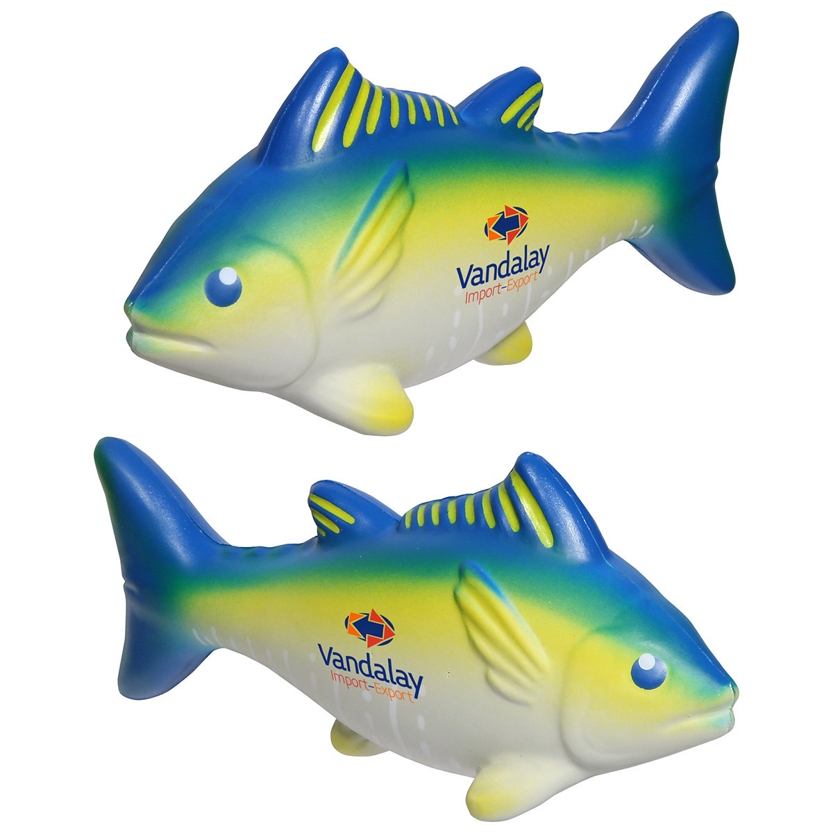 Yellowfin Tuna Stress Reliever, LAA-YT10, 1 Colour Imprint