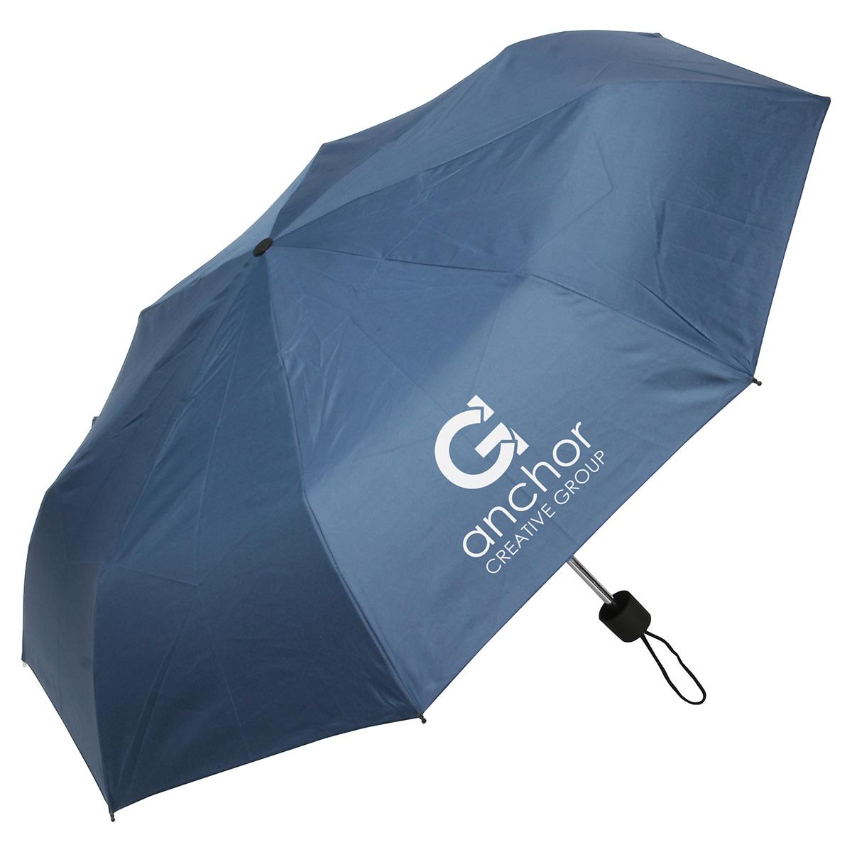 Spring Breeze Folding Umbrella, WTV-SB11 - 1 Colour Imprint