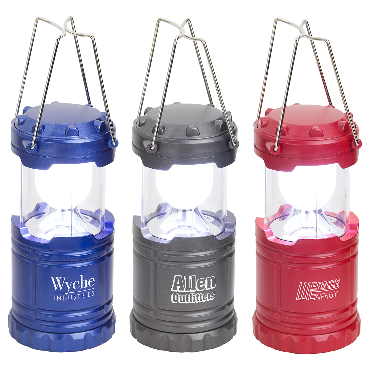 Retro Pop Up Lantern, WLT-RL17 - 1 Colour Imprint