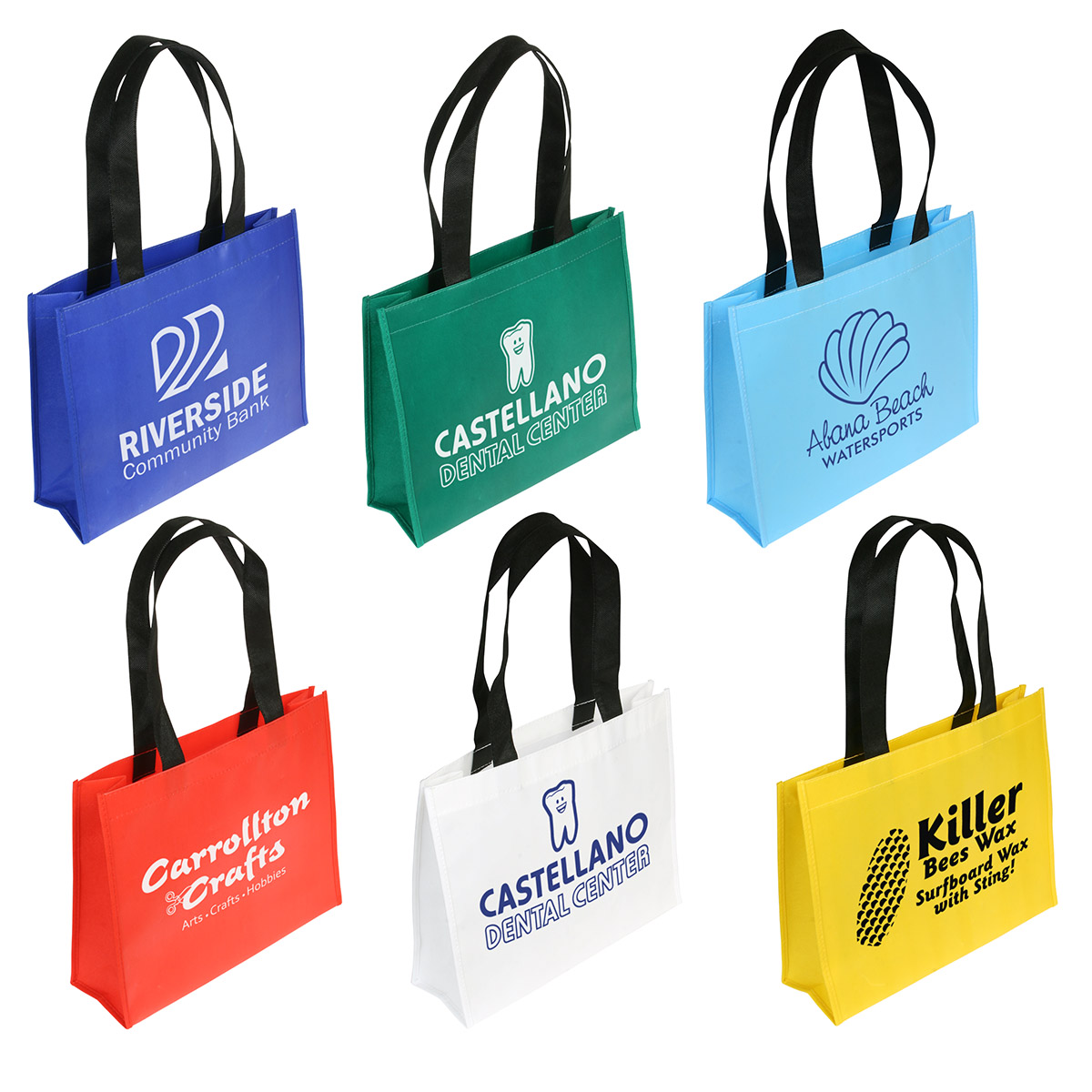 Raindance Water Resistant Coated Tote Bag, WBA-RD09, 1 Colour Imprint