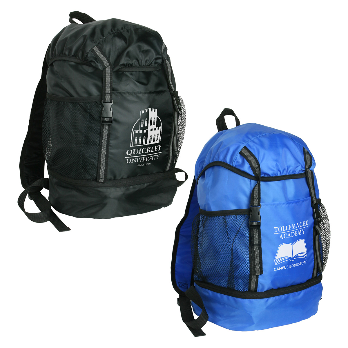 Trail Loop Drawstring Backpack, WBA-TL11 - 1 Colour Imprint