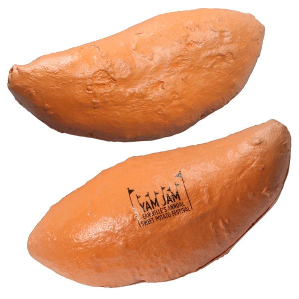 Sweet Potato Stress Reliever, LVG-SP09 - 1 Colour Imprint