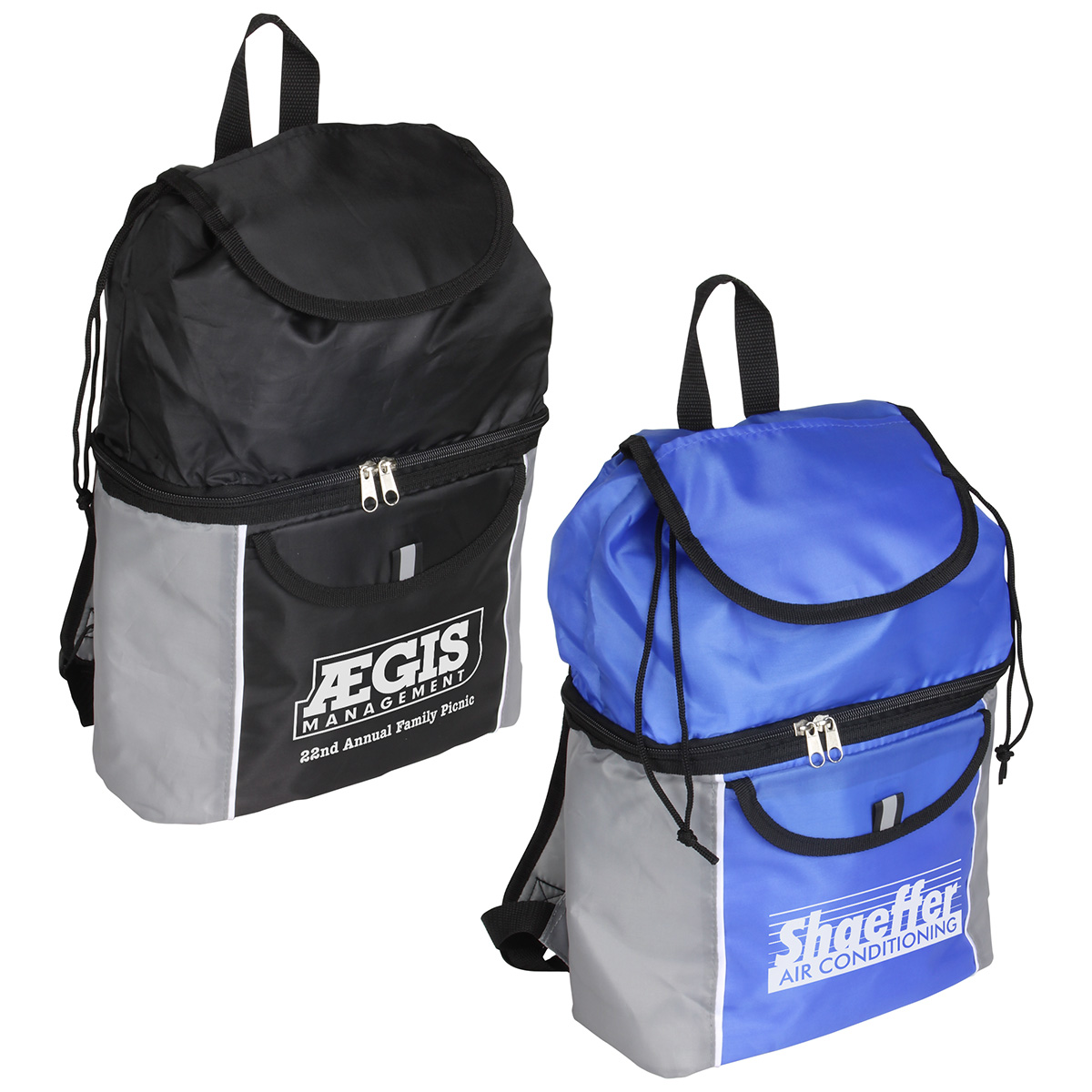 Journey Cooler Backpack, WBA-JC12 - 1 Colour Imprint