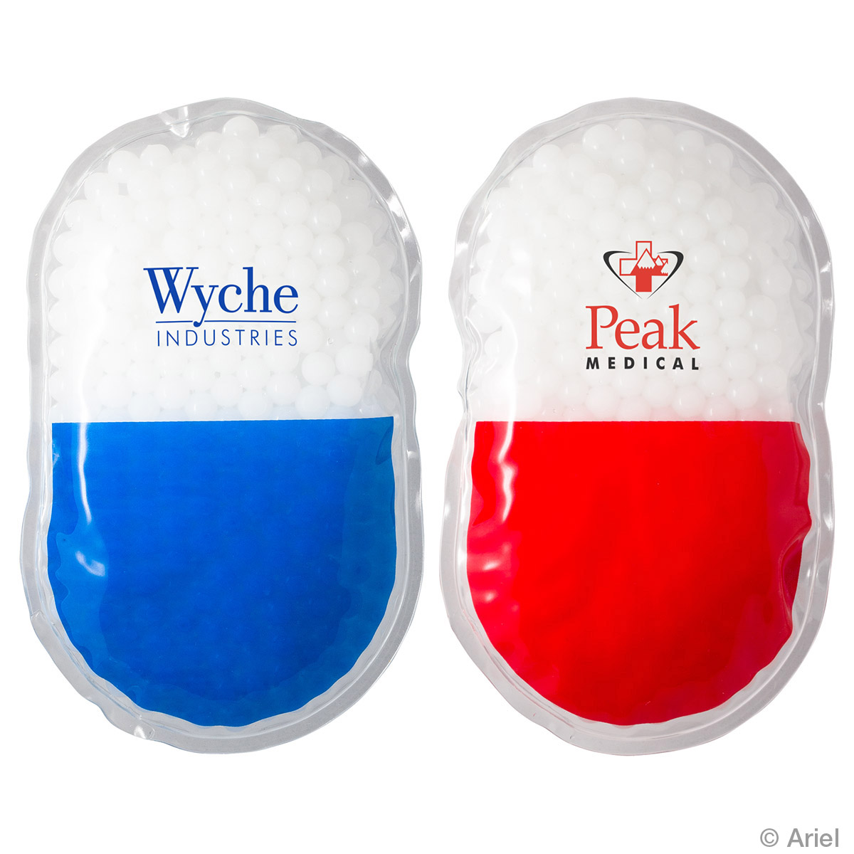 Capsule Hot/Cold Pack, WHF-CP17 - 1 Colour Imprint