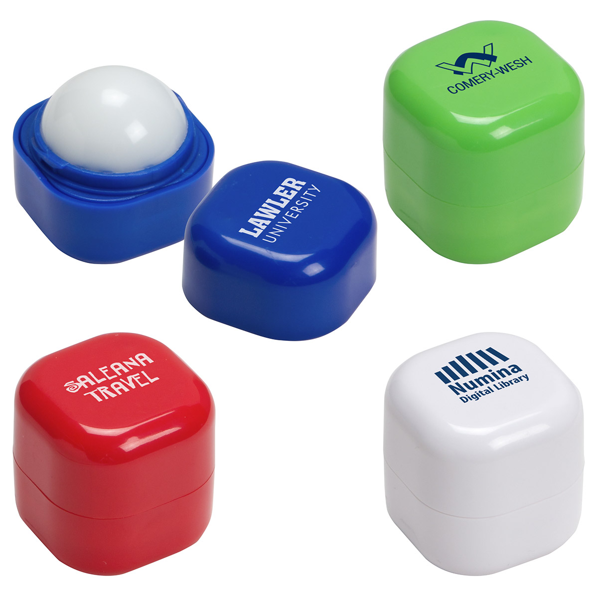 Chap-Cube Vanilla Lip Balm, WHF-CC17 - 1 Colour Imprint