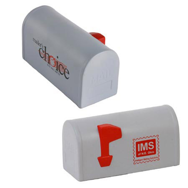 Mailbox Stress Reliever, LCC-MB29, 1 Colour Imprint