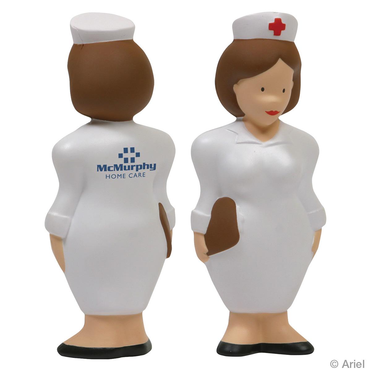 Nurse Stress Reliever, LAN-NU01 - 1 Colour Imprint