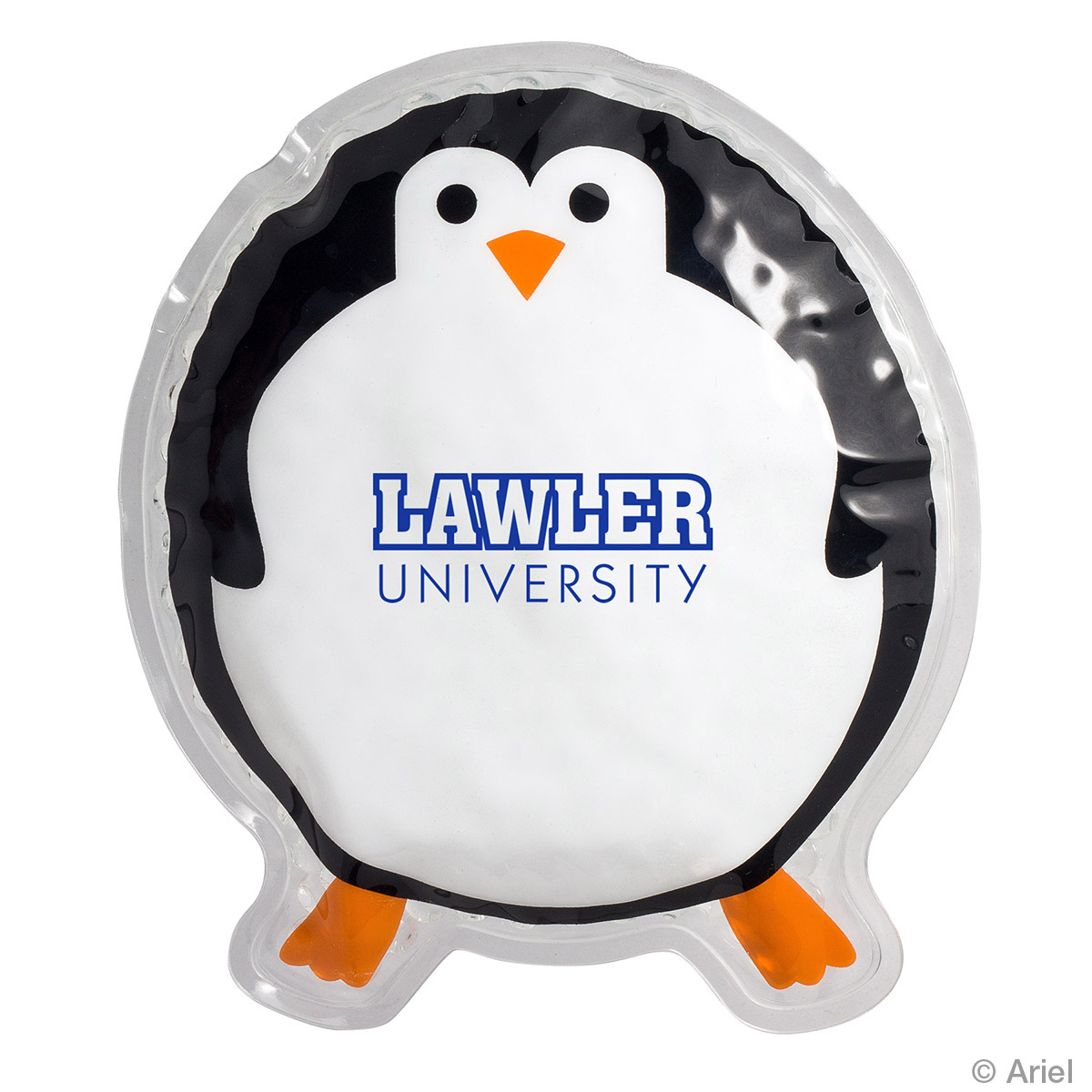 Round Penguin Hot/Cold Pack, WHF-RP17 - 1 Colour Imprint