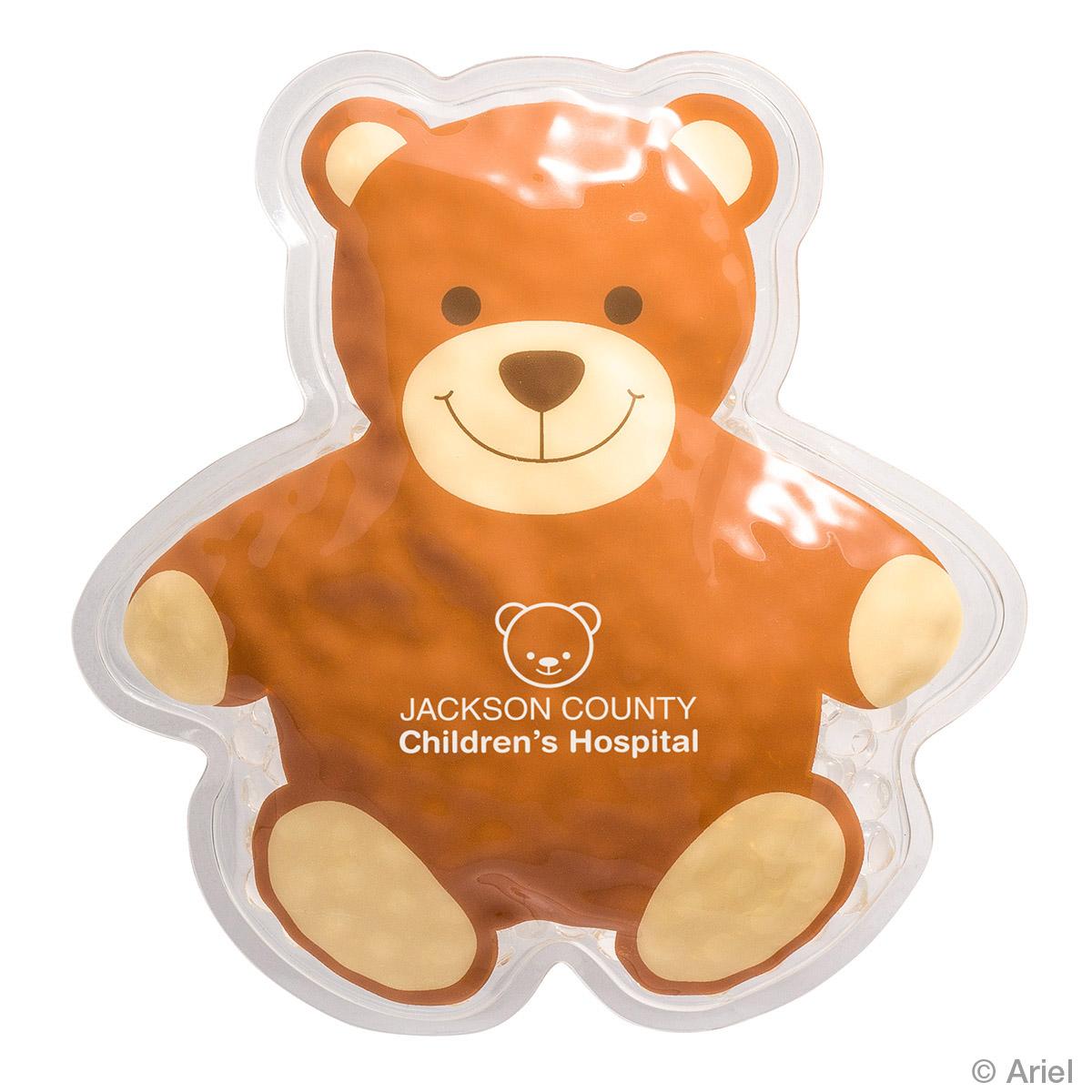 Teddy Bear Hot/Cold Pack, WHF-TB17 - 1 Colour Imprint